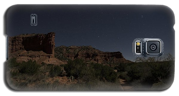 Galaxy S5 Case featuring the photograph Moonlit Path by Melany Sarafis