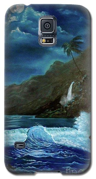 Moonlit Wave Galaxy S5 Case
