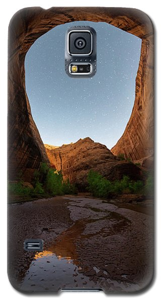 Galaxy S5 Case featuring the photograph Moonrise At Coyote Gulch by Dustin LeFevre