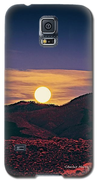 Moonrise In Northern New Mexico  Galaxy S5 Case