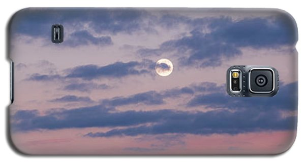 Moonrise In Pink Sky Galaxy S5 Case