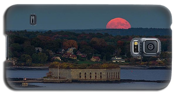 Moonrise Over Ft. Gorges Galaxy S5 Case