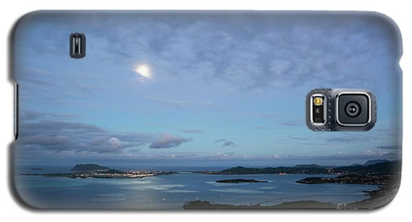 Moonrise Over Kaneohe Bay Galaxy S5 Case