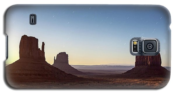 Moonrise Over Monument Valley Galaxy S5 Case