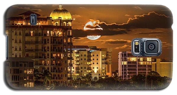 Moonrise Over Sarasota Galaxy S5 Case