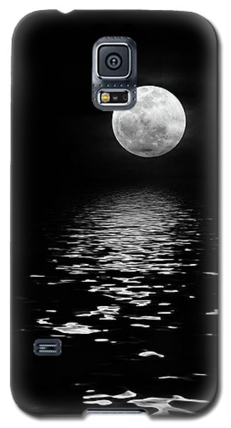 Moonrise Over The Atlantic Galaxy S5 Case