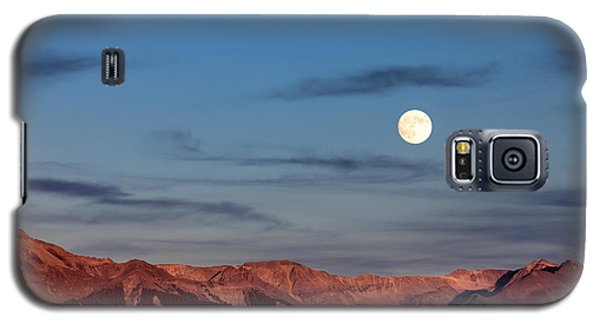 Moonrise With Afterglow Galaxy S5 Case