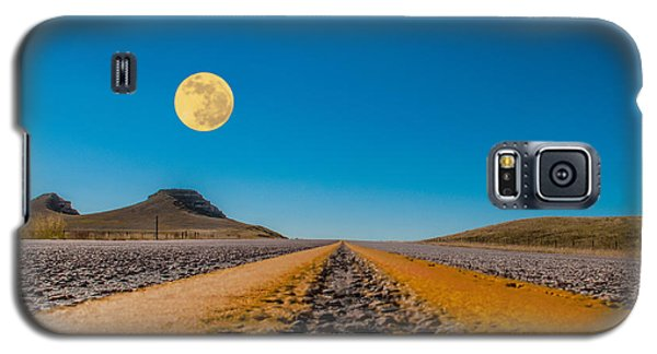 Moonrise Wyoming Galaxy S5 Case