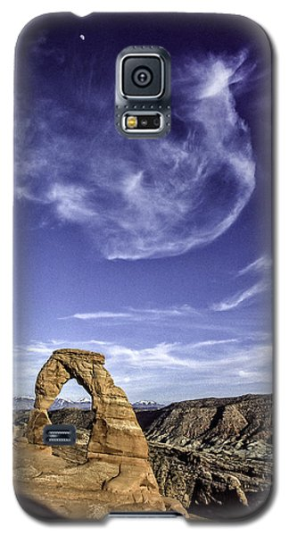 Moonset Delicate Arch Galaxy S5 Case