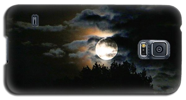 Moonset In The Clouds 2 Galaxy S5 Case