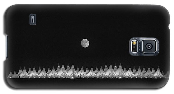Moonset Over Dia Galaxy S5 Case by Kristal Kraft