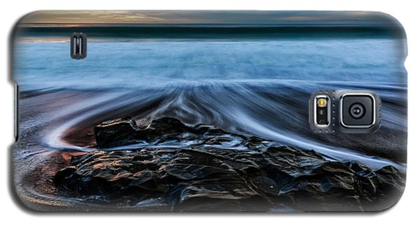Moonstone Beach In The New Year Galaxy S5 Case