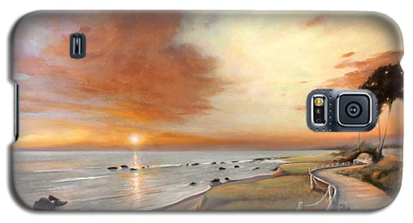 Moonstone Cambria Sunset Galaxy S5 Case by Michael Rock