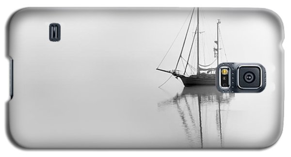 Moored On A Foggy Day Galaxy S5 Case