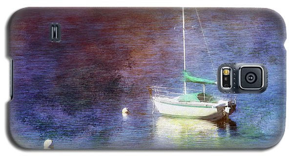 Moored Sailboat Galaxy S5 Case