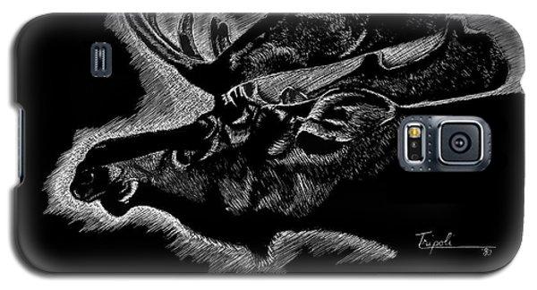 Moose Galaxy S5 Case by Lawrence Tripoli