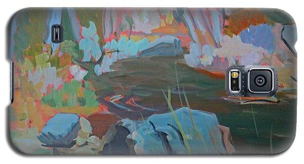 Moose Lips Brook Galaxy S5 Case by Francine Frank
