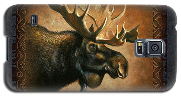 Wildlife Galaxy S5 Case - Moose Lodge by JQ Licensing