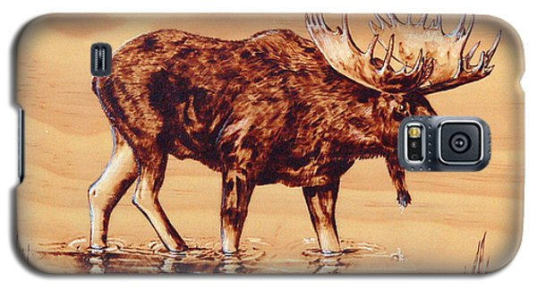 Moose Marsh Galaxy S5 Case by Ron Haist