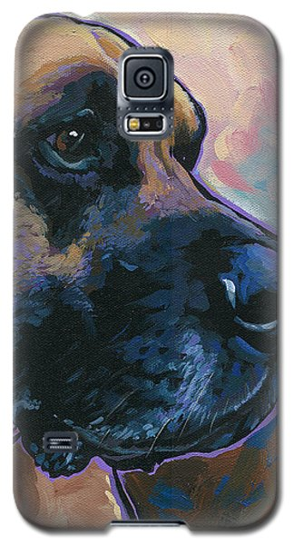 Moose Galaxy S5 Case by Nadi Spencer