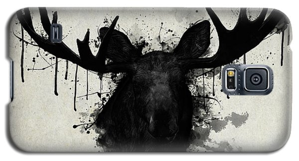 Bull Galaxy S5 Case - Moose by Nicklas Gustafsson