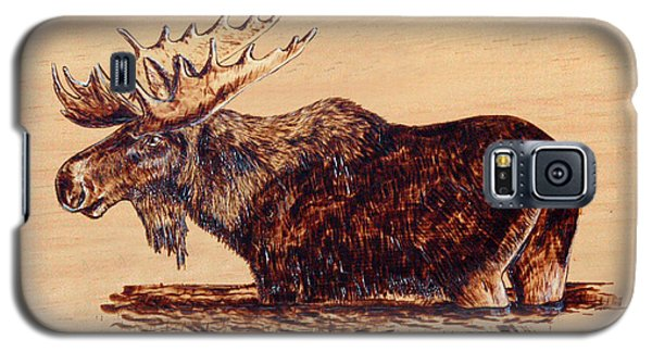 Moose Galaxy S5 Case by Ron Haist