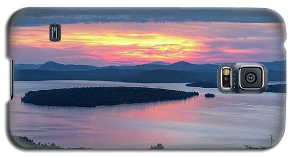 Mooselookmeguntic Lake In The Last Light Of Day - Rangeley Me  -63430 Galaxy S5 Case