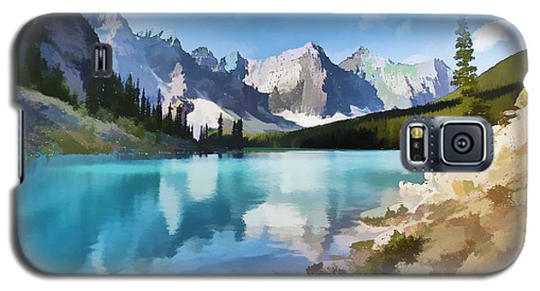 Moraine Lake At Banff National Park Galaxy S5 Case