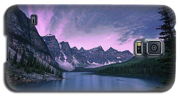 Galaxy S5 Case featuring the photograph Moraine Lake by Dan Jurak