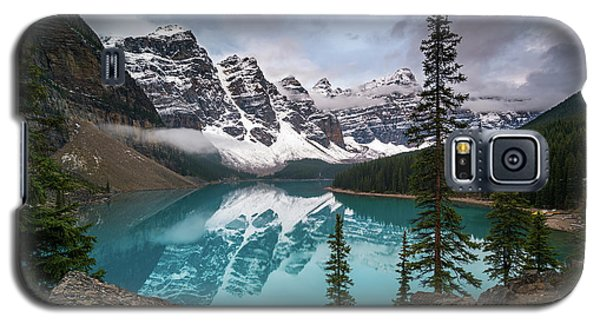 Moraine Lake In The Canadaian Rockies Galaxy S5 Case