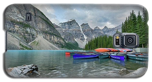 Moraine Logs And Canoes Galaxy S5 Case