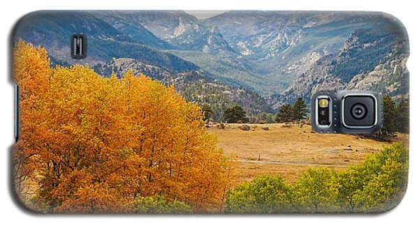 Moraine Park In Rocky Mountain National Park Galaxy S5 Case