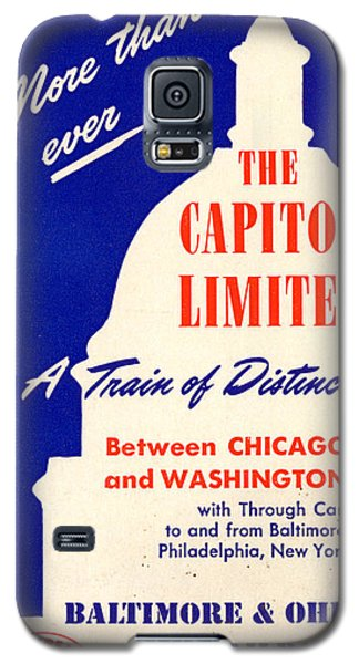 More Than Ever, The Capitol Limited Galaxy S5 Case
