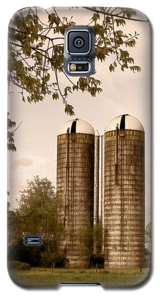 Morgan Dairy Grain Silos Galaxy S5 Case