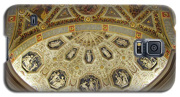 Galaxy S5 Case featuring the photograph Morgan Library Rotunda by Jessica Jenney