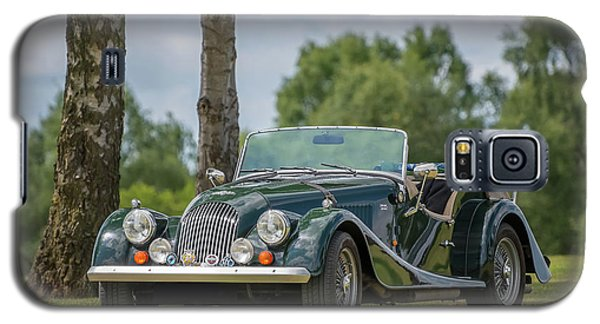 Galaxy S5 Case featuring the photograph Morgan Sports Car by Adrian Evans