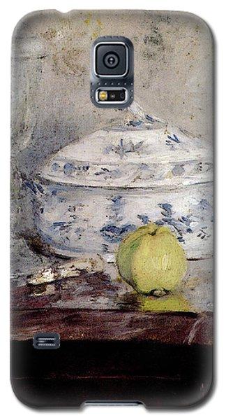 Morisot Berthe Tureen And Apple Galaxy S5 Case by Berthe Morisot