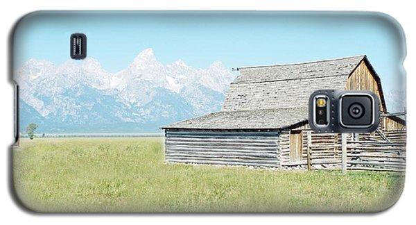 Mormon Row Barn - Grand Tetons Galaxy S5 Case