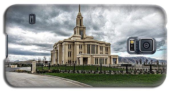Mormon Temple Payson Utah Galaxy S5 Case by James Hammond