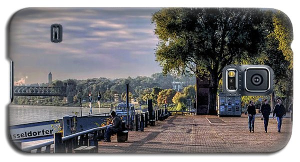Galaxy S5 Case featuring the photograph Morning Along The Rhine by Jim Hill