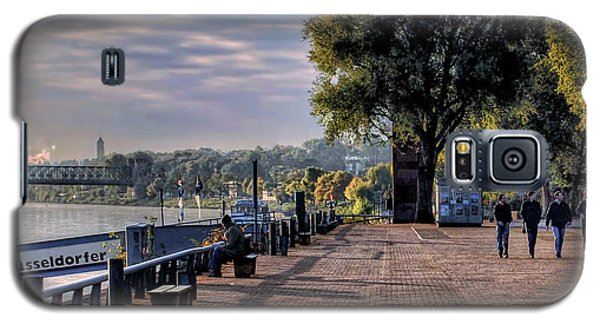 Morning Along The Rhine Galaxy S5 Case by Jim Hill