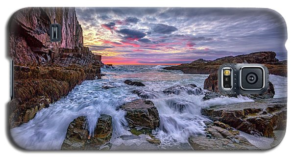 Morning At Bald Head Cliff Galaxy S5 Case by Rick Berk