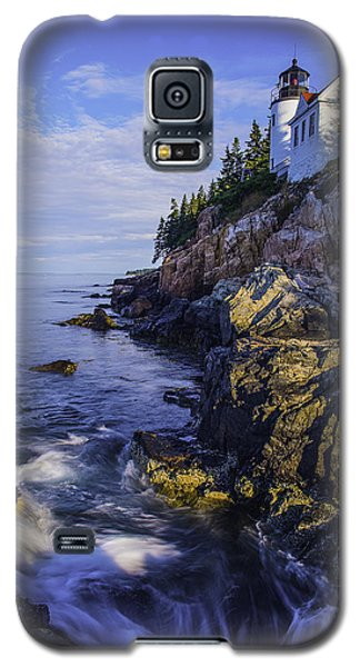 Morning At Bass Harbor Lighthouse Galaxy S5 Case