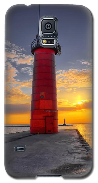 Morning At The Kenosha Lighthouse Galaxy S5 Case