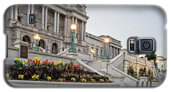 Galaxy S5 Case featuring the photograph Morning At The Library Of Congress by Greg Mimbs