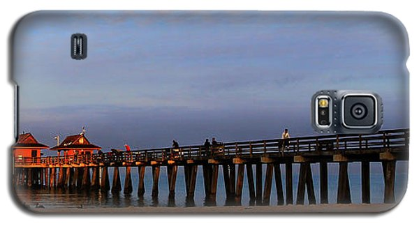 Morning At The Naples Pier Galaxy S5 Case