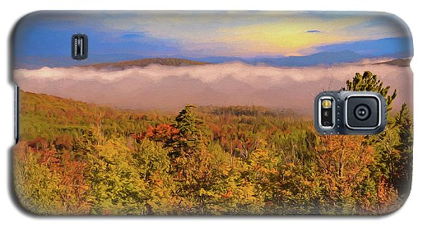 Morning Autumn Landscape Northern New Hampshire Galaxy S5 Case