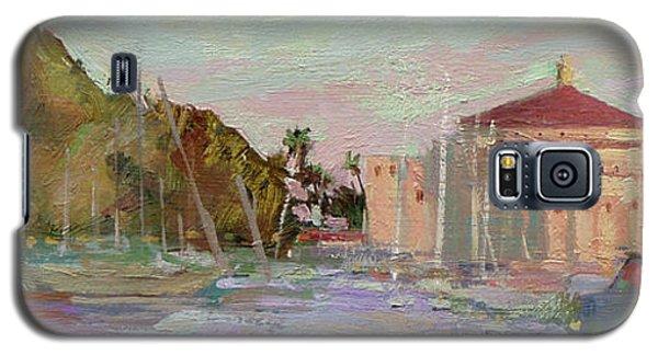 Morning Avalon Harbor - Catalina Island Galaxy S5 Case