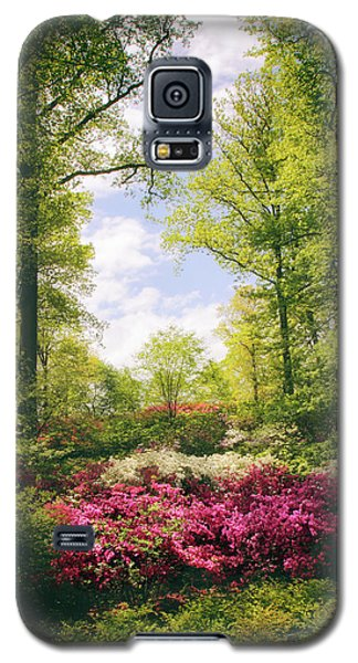 Morning Azaleas Galaxy S5 Case by Jessica Jenney