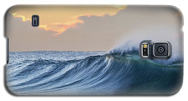 Galaxy S5 Case featuring the photograph Morning Breaks by Az Jackson